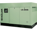 Sullair LS-200s Rotary Screw Air Compressor