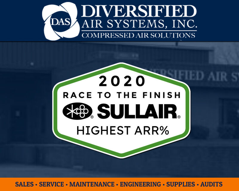 Sullair Recognizes Diversified Air Systems For Top Aftermarket Retention